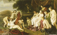Jacob van Loo Diana and Callisto