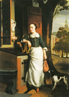 Nicolaes Maes The Maidservant