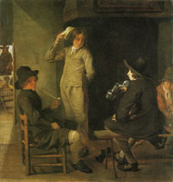 Michael Sweerts An Inn Parlour
