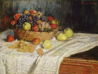 Claude Monet Apples and Grapes