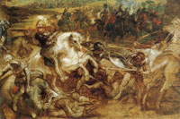 Peter Paul Rubens Henry IV in the Battle of Paris