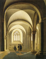 Pieter Saenredam South bay of the west gallery of the Mariakerk, Utrecht