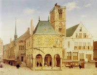 Pieter Saenredam The old town hall of Amsterdam