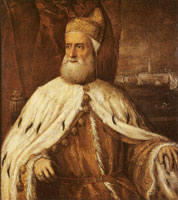 Titian and workshop Portrait of Doge Francesco Donà