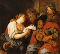 Jacob Toorenvliet Four Musicians