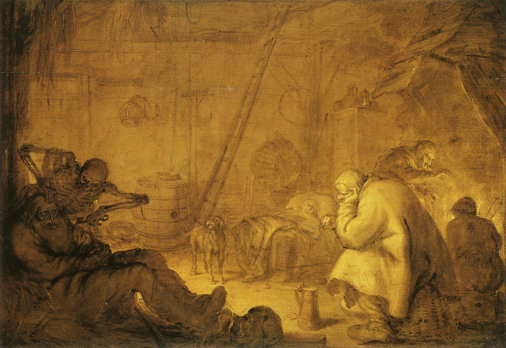 Adriaen van de Venne - Death and the poor