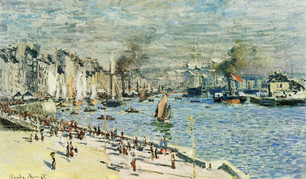 Claude Monet - The Old Port of Le Havre
