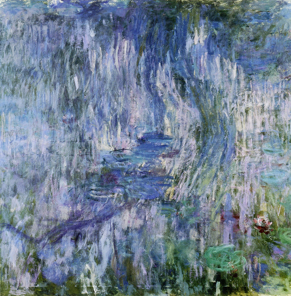 Claude Monet - Water lilies, reflection of a weeping willow
