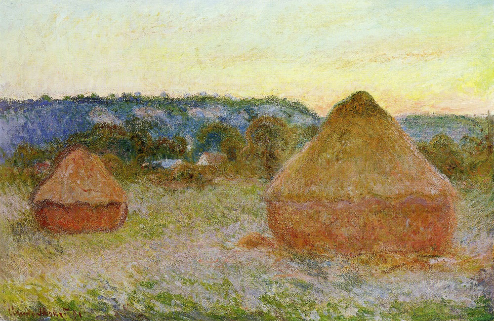 Claude Monet - Wheatstacks