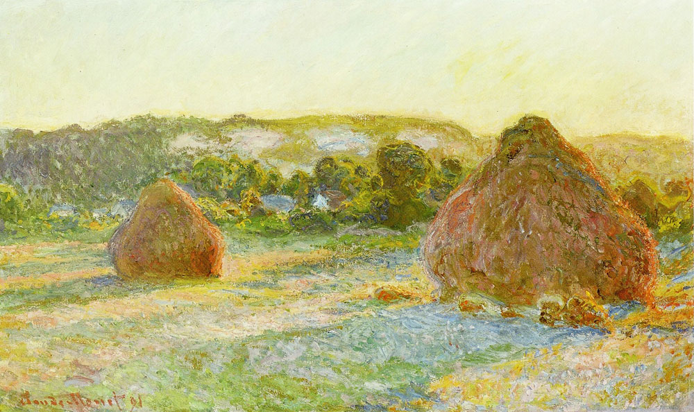 Claude Monet - Wheatstacks (End of summer)