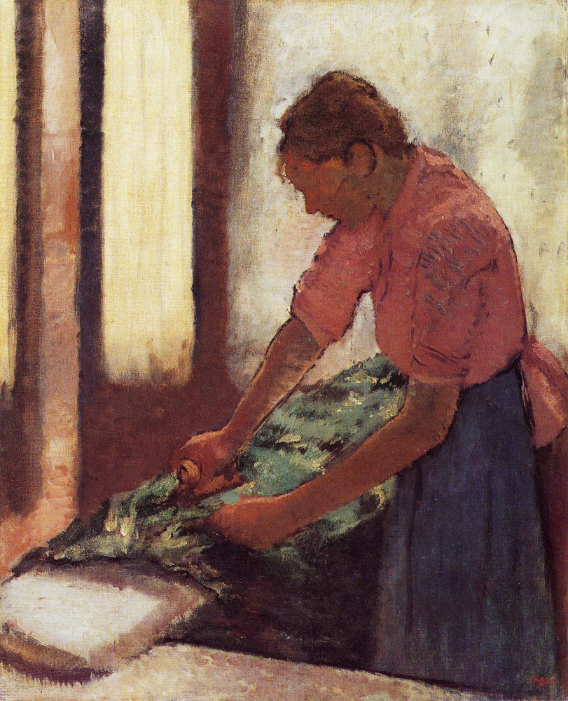 Edgar Degas - Woman ironing