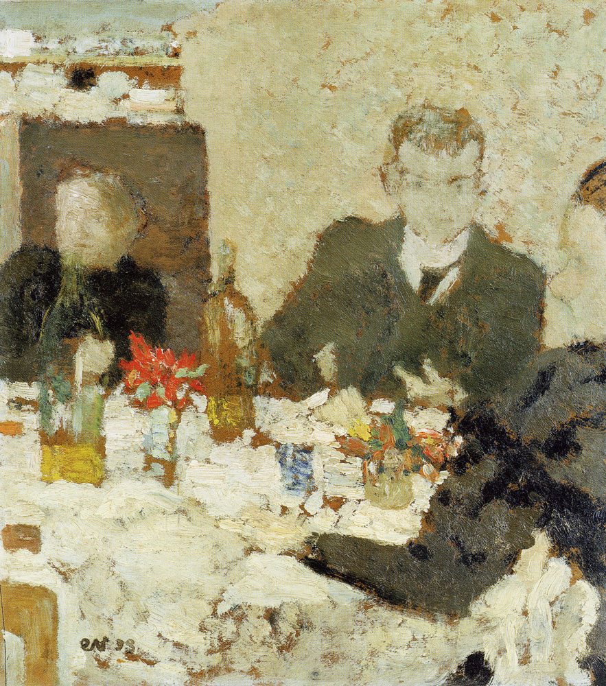 Édouard Vuillard - At Table