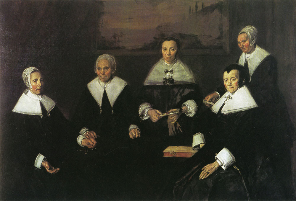 Frans Hals - The female regents of the Old Men's Almshouse in Haarlem