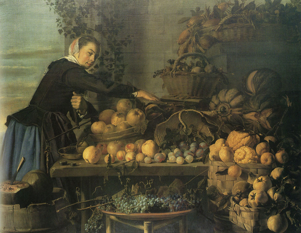 Frans Hals - The greengrocer