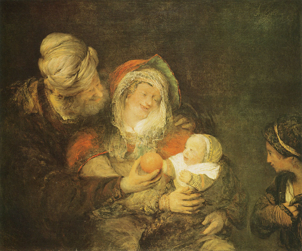 Aert de Gelder - The Holy Family