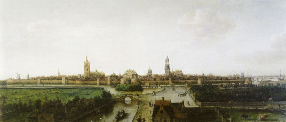 Hendrick Vroom - View of Delft from the Southwest