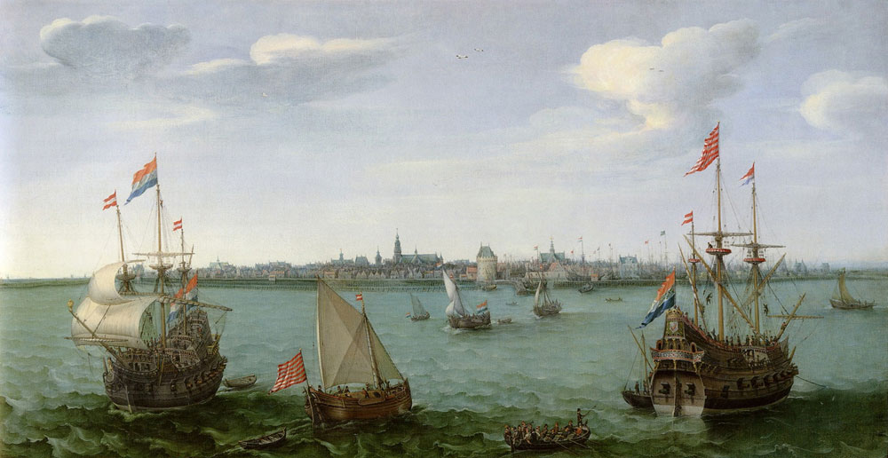 Hendrick Vroom - View of Hoorn