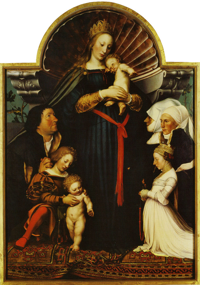 Hans Holbein the Younger - Meyer Madonna