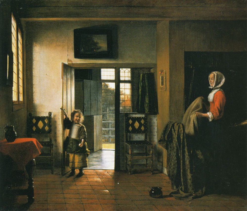 Pieter de Hooch - The Bedroom