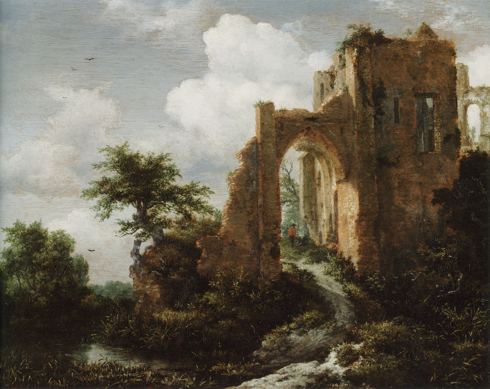 Jacob van Ruisdael - Ruined Entrance Gate of Brederode Castle