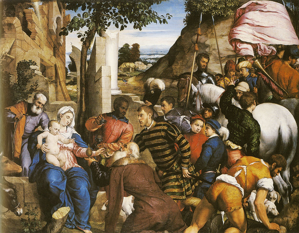 Jacopo Bassano - The Adoration of the Kings