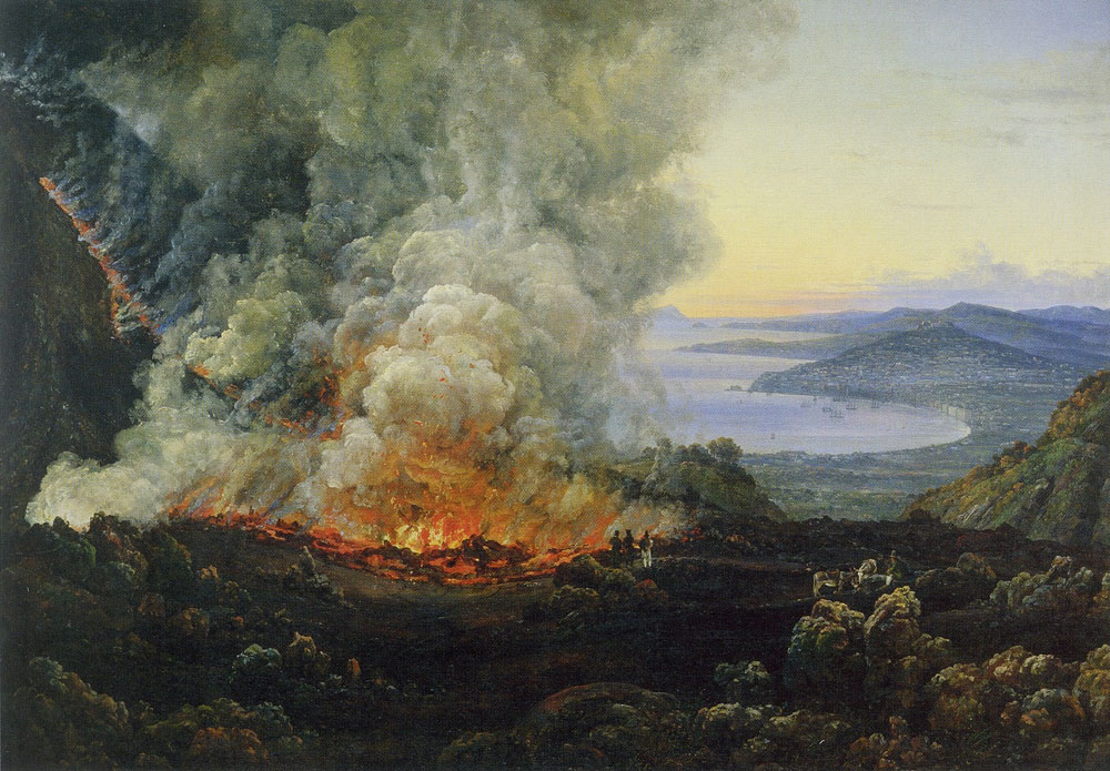 Johan Christian Dahl - Vesuvius in eruption