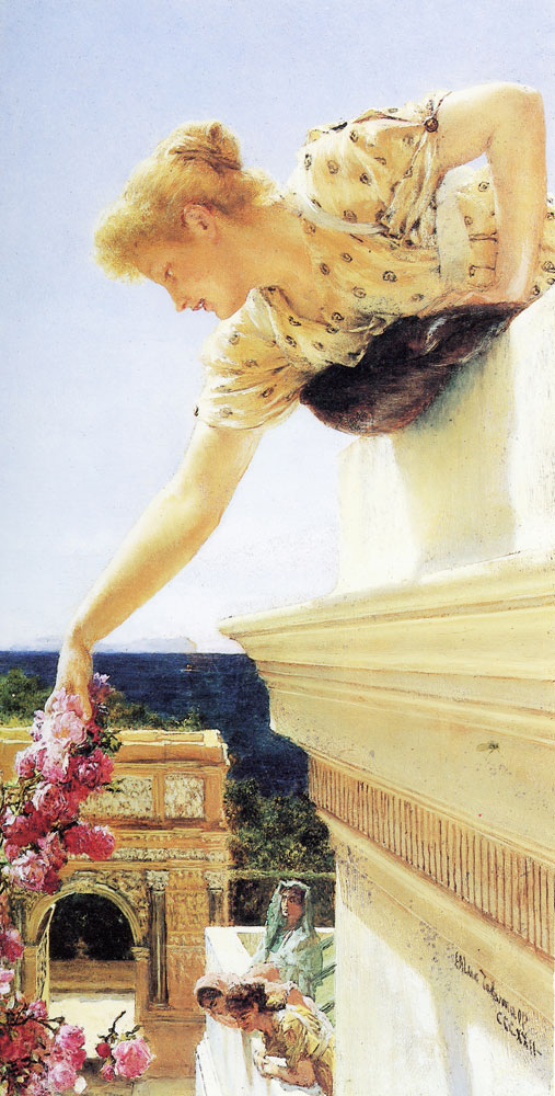 Lawrence Alma-Tadema - God speed!