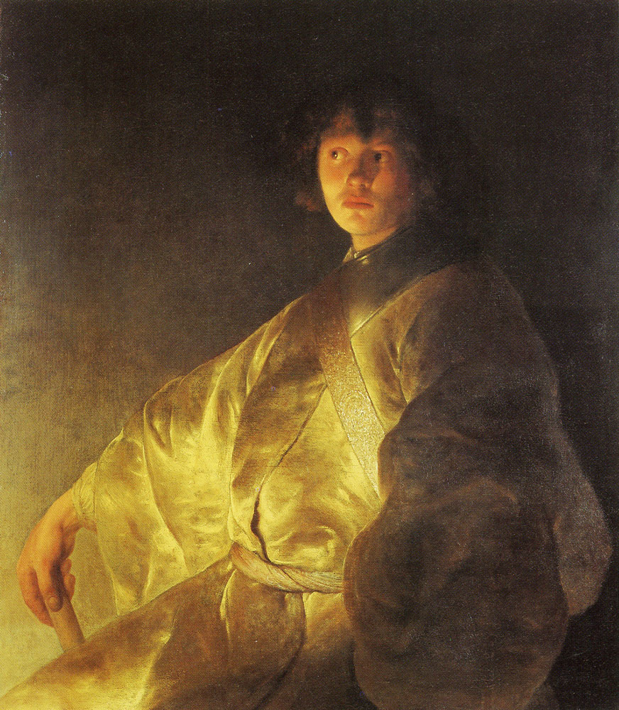 Jan Lievens - Self-portrait
