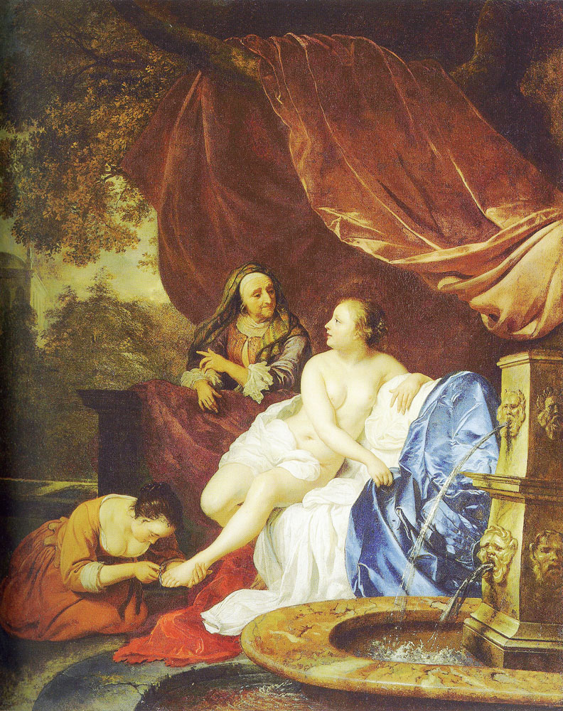 Jacob van Loo - Bathsheba at her bath
