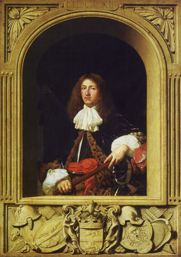 Frans van Mieris the Elder - Portrait of Count Ulrik Frederik Gyldenløve