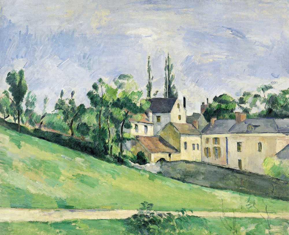 Paul Cezanne - The uphill road