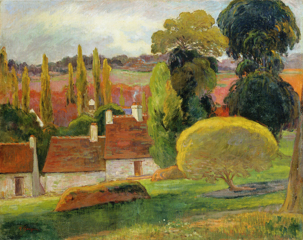 Paul Gauguin - A Farm in Brittany