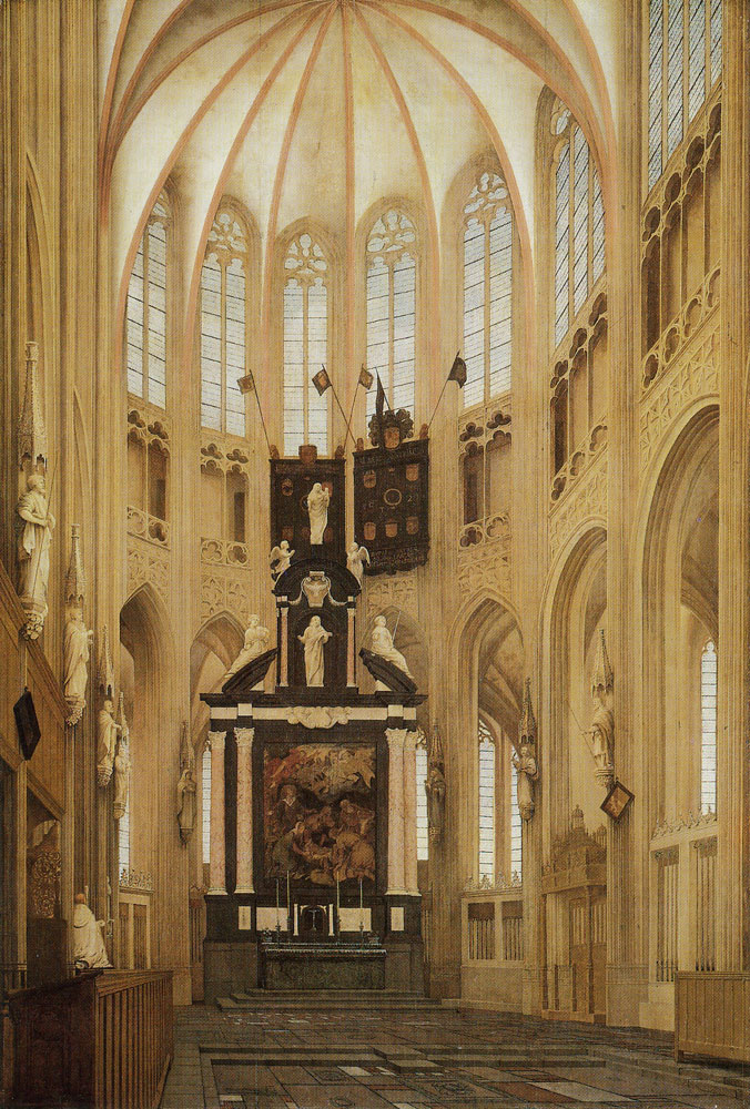Pieter Saenredam - Choir of the St. Janskerk, 's-Hertogenbosch