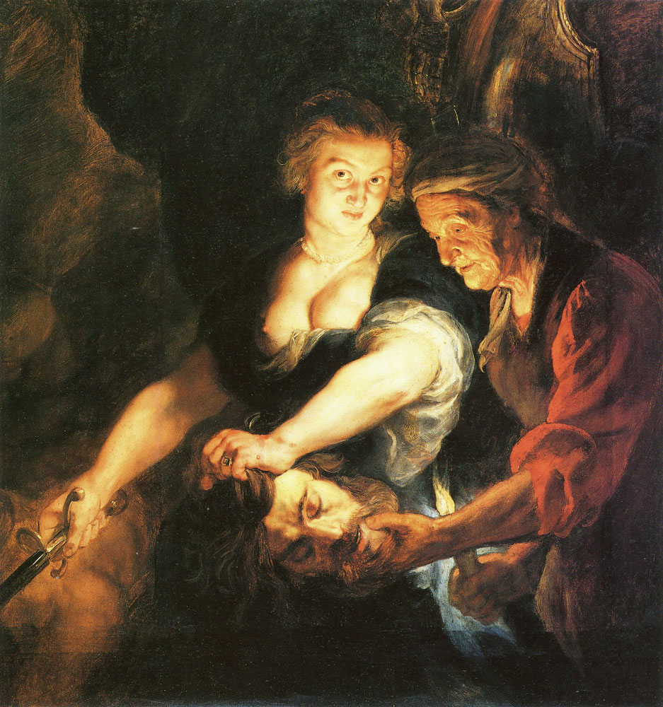 Peter Paul Rubens - Judith with the head of Holofernes