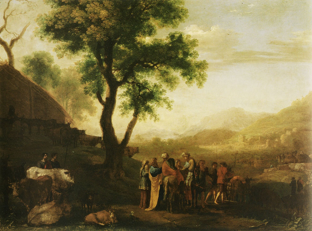 Herman van Swanevelt - Old Testament scene