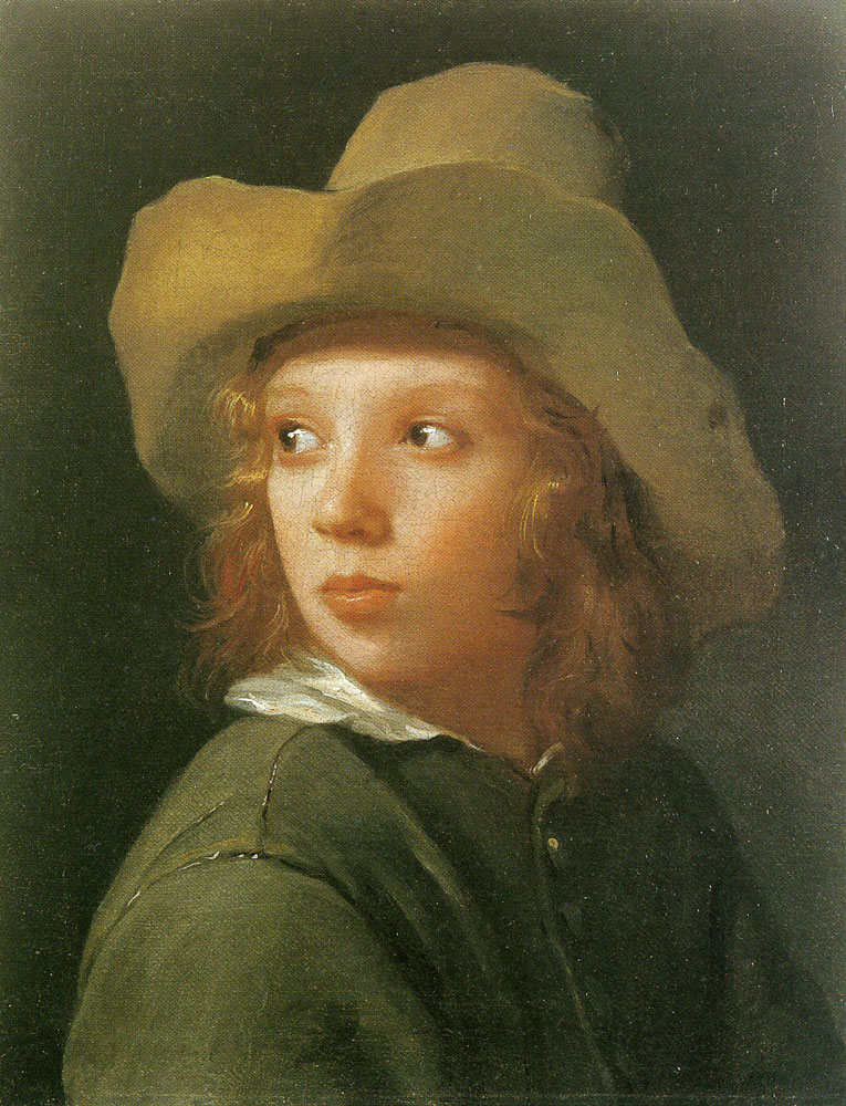 Michael Sweerts - Boy with a Hat