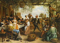Jan Steen The Dancing Couple