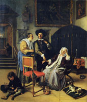 Jan Steen The Doctor's Visit