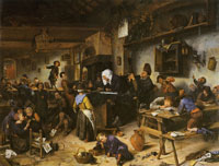 Jan Steen A School for Boys and Girls