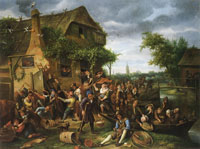 Jan Steen A Village Revel