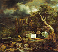 Jacob van Ruisdael The Jewish Cemetery