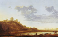 Aelbert Cuyp The Valkhof at Nijmegen from the East