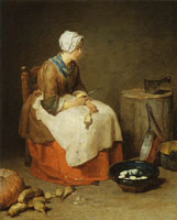 Jean-Siméon Chardin The Kitchen Maid