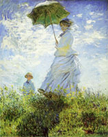 Claude Monet - The Stroll