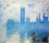 Claude Monet Houses of Parliament, London