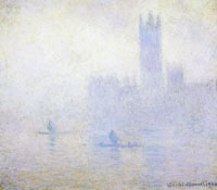 Claude Monet Houses of Parliament, London, fog effect