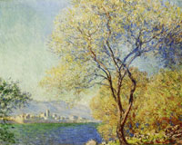 Claude Monet Antibes seen from La Salis