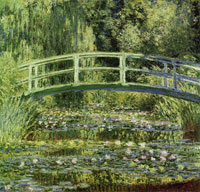 Claude Monet The water lily garden