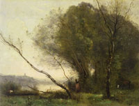 Camille Corot The bent tree