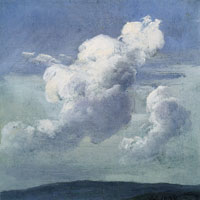 Johan Christian Dahl Cloud study